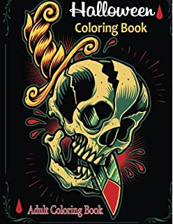 Adult Coloring Books Halloween