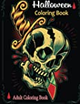 Adult Coloring Books: Halloween Color...