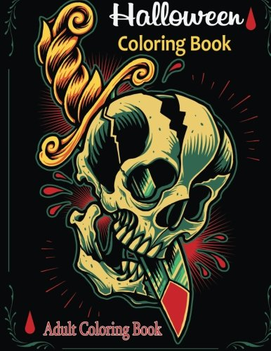 [Adult Coloring Books: Halloween Coloring Books] (Sci Fi Halloween)
