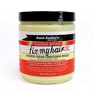 Aunt Jackie's Fix My Hair, Intensive Repair Conditioning Masque.