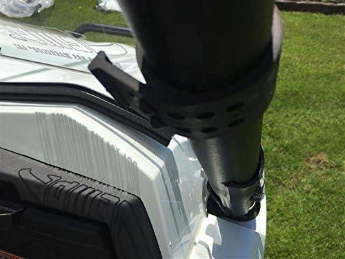 EMP 2016-19 Kawasaki Teryx 800 Hard Coated Half Windshield//Deflector 13216