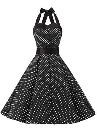 Amazon.com: Dressystar Vintage Polka Dot Retro Cocktail