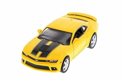 Amazon Kinsmart 2014 Chevrolet Camaro Yellow 5383df 138