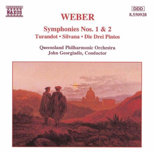(Weber: Symphonies Nos. 1 And 2 / Turandot Overture / Silvana)