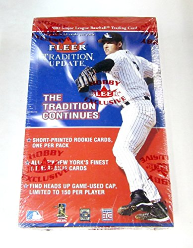 2002 Fleer Box (2002 Fleer Tradition Update Baseball Box (Hobby))