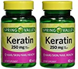Spring Valley Keratin, 250 mg, 60 tabs