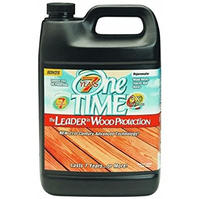 One Time Wood Sealer, 1 Gal Clove Brown