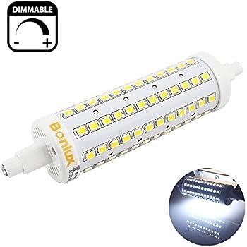 Bonlux r7s base led light bulb j118 led dimmable daylight for R7s led 78mm 100w
