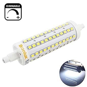 bonlux r7s base led light bulb j118 led dimmable daylight 6000k r7s led replacement bulb for. Black Bedroom Furniture Sets. Home Design Ideas