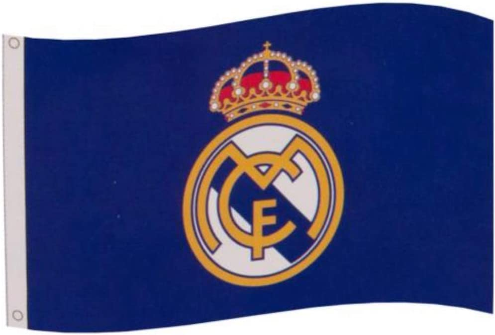 Real Madrid Core Crest Flag: Amazon.es: Deportes y aire libre