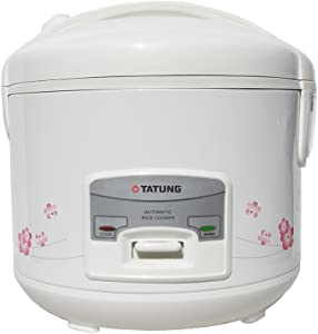 Tatung TRC-10DC 10 Cup Rice Cooker, White