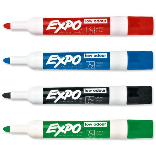 PaperMate Expo Whiteboard Marker Low Odour Bullet Tip