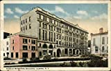 Steele Memorial Building Elmira, New York Original Vintage Postcard