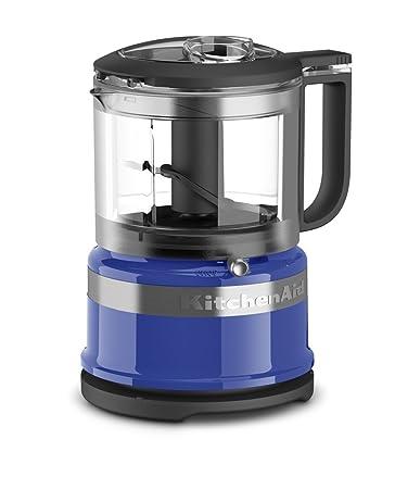 KitchenAid KFC3516TB 3.5 Cup Mini Food Processor, Twilight Blue