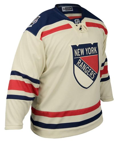 sports shoes 62410 3d569 New York Rangers Reebok 2012 Winter Classic Team Premier Jersey