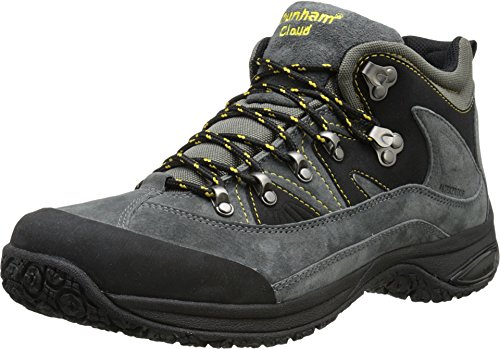 Dunham Men's Cloud Mid-Cut Waterproof Boot,  Slate Black -