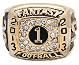 TYSping Fantasy Football 2011-2017 Championship Ring Trophy Prize (2013)
