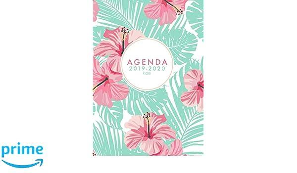 Calendario 202018.Agenda 2019 2020 Fiori Agenda Settimanale 2019 2020 18 Mesi 15 X21