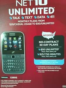 Samsung S390G Prepaid Phone - Net 10