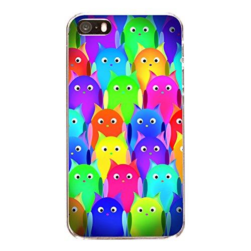 """Disagu Design Case Coque pour Apple iPhone 5s Housse etui coque pochette """"Owls Group"""""""
