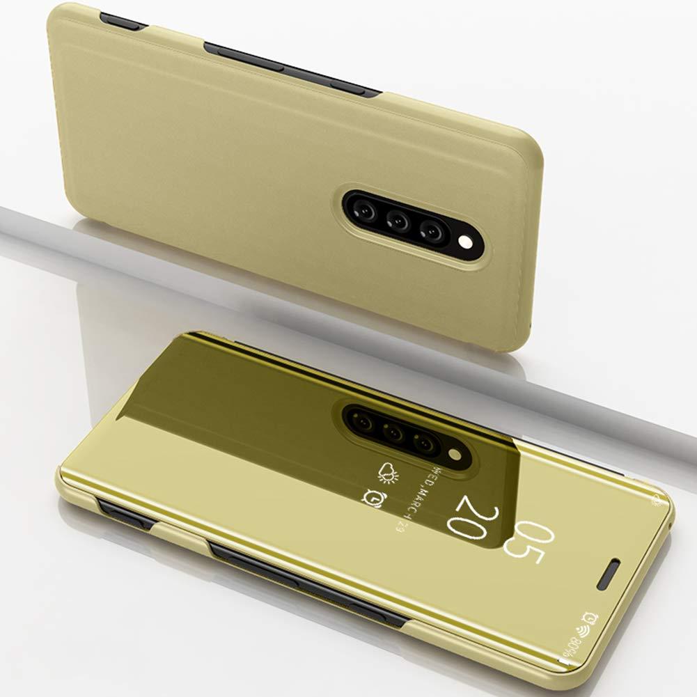 Funda Compatible Con Sony Xperia XZ4 Carcasa Espejo Mirror Flip A ...