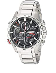 Casio Mens Edifice Connected Quartz Stainless Steel Casual Watch, Color:Silver-Toned (Model: EQB-501XD-1ACF)