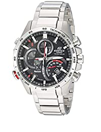 Casio Men's 'Edifice Connected' Quartz Stainless Steel Casual Watch, Color Silver-Toned (Model: EQB-501XD-1ACF)