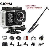 Original SJCAM SJ7 Star WiFi 4K 30FPS 2 Touch Screen Remote Action Helmet Sports DV Camera Waterproof Ambarella A12S75 Chipset+ SJCAM monopod