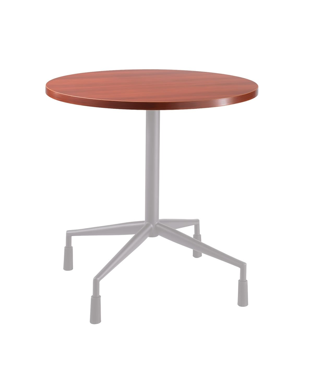 Safco 30'' Round Top Table Color: Cherry