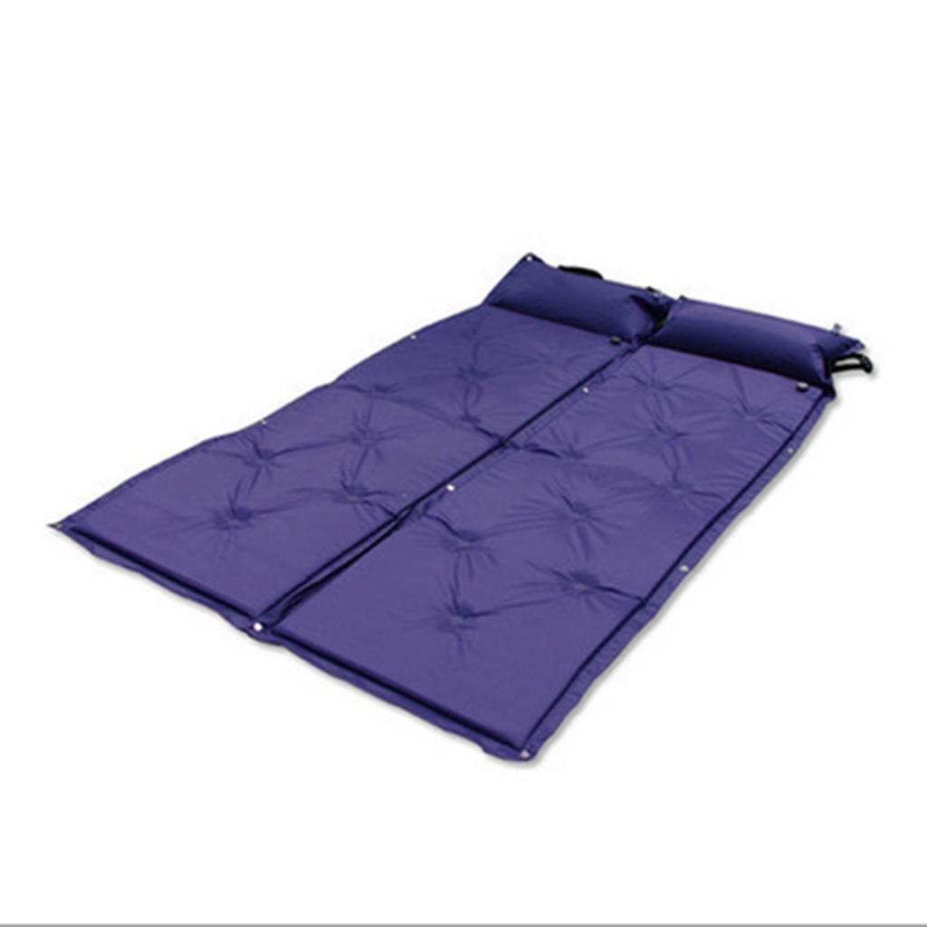 DZW Outdoor Camping Camping Supplies automatisch aufblasbare Polster einzelne Matte Zelt Isomatte kann zwei  Herrenchen verbinden.