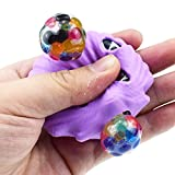 Squeeze Shell Grape Ball, Fullfun Children Educational Stress Reliever Toy