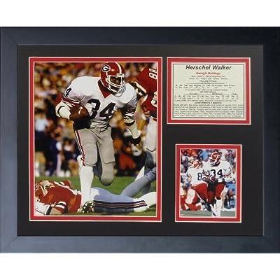 "Legends Never Die ""Herschel Walker Bulldogs"" Framed Photo Collage, 11 x 14-Inch by Legends Never Die"