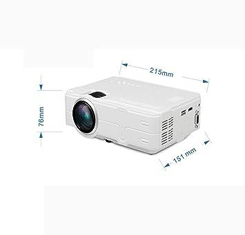 JIANGNAN Mini proyector, Pantalla de 120
