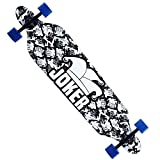 Blunt Cruiser Through Longboard Skateboard Complete Maple Deck 9.5 x 42″ speed downhill