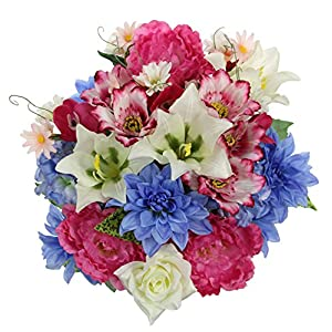 Admired by Nature Artificial Blooming Flowers 4