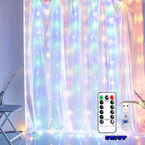 Color Changing Led Icicle Christmas Lights in US - 8
