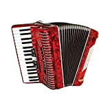 Hohner Accordion 1305-RED 97 Key 72 Bass Style
