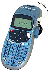 dymo letratag lt 100h s0883970 label makers office products. Black Bedroom Furniture Sets. Home Design Ideas