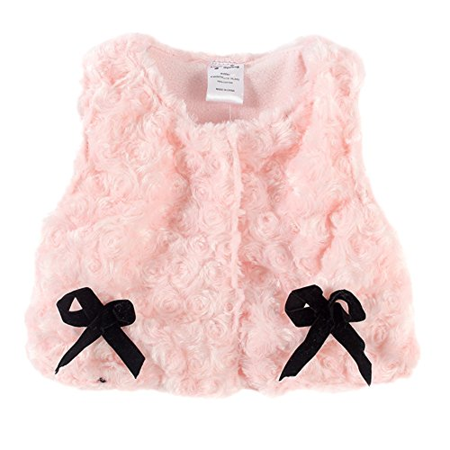 LittleSpring Baby Girls' Vest Bow