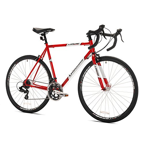 Giordano Libero Acciao Road Bike, 700c, Red, Medium Kent International, Inc.