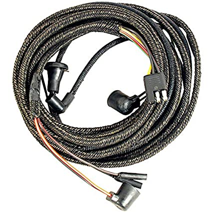 amazon com: 1966 ford mustang taillight wiring harness - w/boots coupe &  convertible: automotive