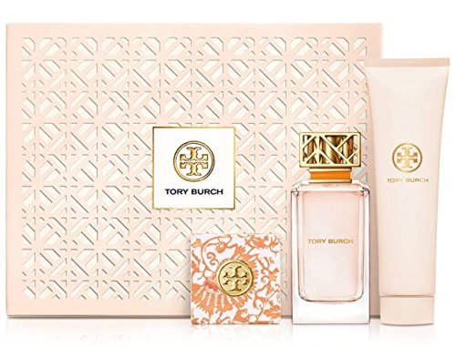 NIB Tory Burch Signature Eua De Parfum Soap Body Lotion Gift Set - Burch Signature Tory