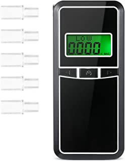 Megaprom Mini LED Alkoholtester Alkomat Promilletester Schl/üsselanh/änger im Autoschl/üsselformat mit Taschenlampe