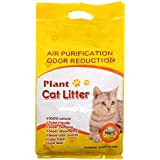 All-Natural Cat Litter Flushable Unscented Pellets Super Scoop Clumping Litter for Multi-Cat 6.2lbs