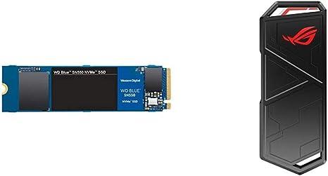 Western Digital Blue SN550 500 GB, M.2 Pcie NVMe SSD + ASUS ROG Strix Arion - Caja de SSD M.2 NVMe: Amazon.es: Informática