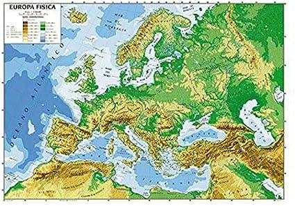 Europa Fisica Cartina Da Stampare.Inchisoare Ambiţios Călătorie Cartina Europa Fisica Da Stampare A4 Amazon Mariacastrojato Com
