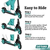 GOTRAX GKS Electric Scooter, Kick-Start Boost and