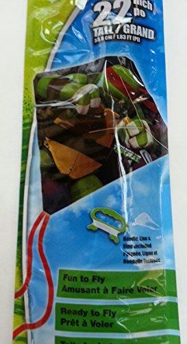 TMNT Ninja Turtles 22 Inch Poly Diamond Kite ()