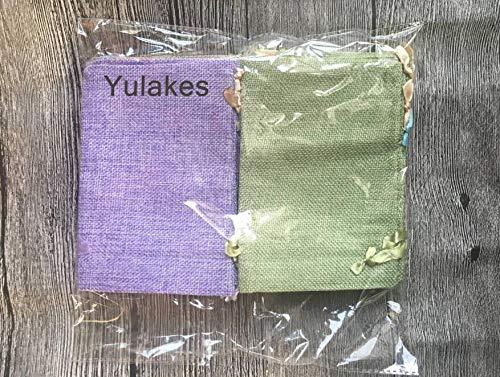 Geschenks/äckchen Yulakes 15pcs Jutes/äckchen Jutebeutel Jute Sack Stoffbeutel Natur S/äckchen Jute Beutel mit Nylon Drawstring Wiederverwendbare Wohnkultur