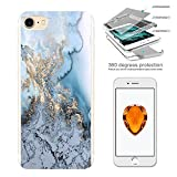 003228 - Fun Bloggers Marble Effect Design iphone 5 5S /SE Complete 360°